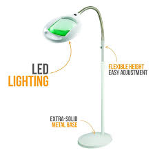 Lighted Magnifying Craft Lamp by Brightech Store Lightview Pro Superbright Magnifier Floor Lamp