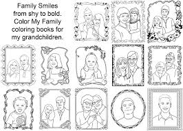 Coloring Pages Of Family Members Tree Father Pictures