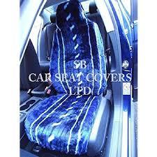siege sharan volkswagen sharan housse de siège à rayures bleu en fausse