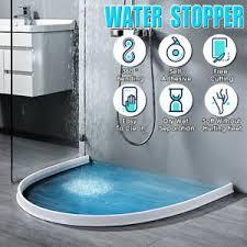 60cm 200cm dusche wasserstopper boden stopp streifen für