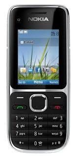 Nokia C2 01 Sim Free Mobile Phone 3G Black