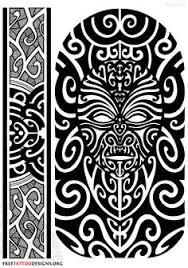 Zealand Maori Color Ta Moko Kirituhi Forearm Tattoo Design