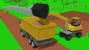 Excavator & Dump Truck, And Small Wheel Loader _Street Vehicles ... Cast Iron Toy Dump Truck Vintage Style Home Kids Bedroom Office Cstruction Vehicles For Children Diggers 2019 Huina Toys No1912 140 Alloy Ming Trucks Car Die Large Big Playing Sand Loader Children Scoop Toddler Fun Vehicle Toys Vector Sign The Logo For Store Free Images Of Download Clip Art On Wash Videos Learn Transport Youtube Tonka Childrens Plush Soft Decorative Cuddle 13 Top Little Tikes Coloring Pages Colors With Crane