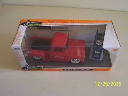 1955 Chevy Chevrolet Stepside Pickup Truck Jada Just Trucks Die Cast ... 1956 Ford F100 Pickup Truck 124 Scale American Classic Diecast World Famous Toys Diecast Trucks F150 F 1953 Car Package Two 143 Scale 2016f250dhs Colctables Inc New 1940 Black 125 Model By First Chevrolet Chevy 2017 Dodge Ram 1500 Mopar Offroad Edition Hobby 1992 454 Ss Off Road Danbury Mint For 1973 Ranger Red White 118
