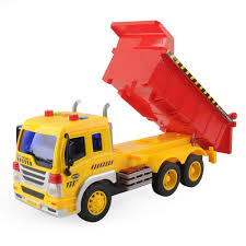 100 Big Truck Toys Details About Gizmovine Toy Cars Friction Powered Dump Vehicle With Lights And Car