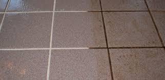 ceramic porcelain tile and grout cleaning restoration tips