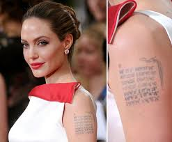 Famous Ink 10 Celebrity Tattoos And The Secret Meanings Behind Them