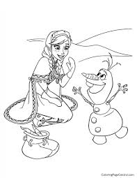 Frozen 13 Coloring Page