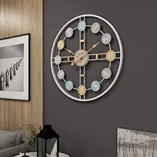 de yun clock moderne stumm wohnzimmer wanduhr