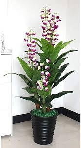 wuyou künstliche pflanzen 130cm sisal blumen baum gefälschte