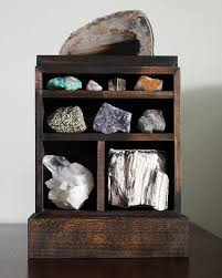 A Beautiful Way To Display Your Gem And Mineral Collection