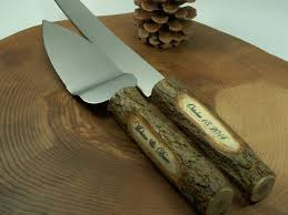 Rustic Old Cake Knifecake Serving Set Wedding Cakeserver And Knife