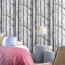 slgjyy birke baum tapete für schlafzimmer modernes entwurfs wohnzimmer tapeten rolle rustikale wald holz tapeten