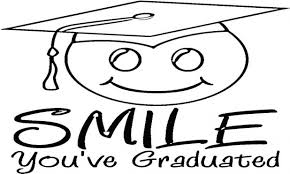 Graduation Cap And Gown Coloring Pages Book Hat Sheet Page