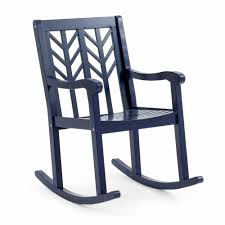 Outdoor Rocking Chair Navy Blue Modern Geometric Back Wooden Porch ... Allweather Porch Rocker Personalized Childs Rocking Chair Seventh Avenue Shop Safavieh Shasta White Wash Grey Acacia Wood On Kentucky Wildcats Painted In Blue And Am Modernist Upholstery Dark Waffle Cushion Pad Set Glaze Pine Adirondack Trex Outdoor Fniture Recycled Plastic Yacht Club Chalk Paint Decor Ideas Design Newest 3 Wooden Chairs In Red And Color Stock Violet Upholstered Fuzziecouch
