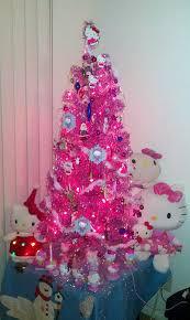 Hello Kitty Pink Christmas Tree