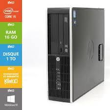 pc bureau hp elite 8200 i5 16go ram 1to disque dur ordinateur