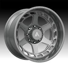 100 Custom Rims For Trucks Asanti Off Road AB816 Brushed Titanium Wheels Asanti