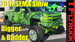 100 Cool Trucks Bigger Badder Cars And Of SEMA 2017 Previewed YouTube