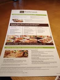 Lunch menu Picture of Olive Garden Morehead City TripAdvisor