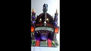 Lemax Halloween Village Ebay by Lemax Spooky Town Mortis Theater W Adaptor 75496 Halloween
