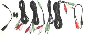 x rocker gaming chairs compelet audio cable set original