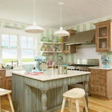 vintage pendant lights for a coastal kitchen