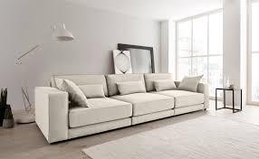 otto products big sofa grenette modulsofa im baumwoll leinenmix oder umweltschoned aus 70 recyceltem polyester federkern