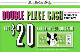 The Children's Place: Earn Double Place Cash = $20 Reward ...