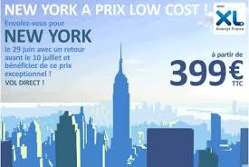 vol new york meilleur prix airportail
