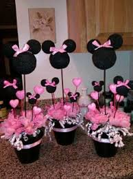 Baby Minnie Mouse Baby Shower Theme by Minnie Mouse Centerpiece Decorations