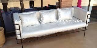 mobilier de jardin en fer forgé canapé meubles décoration