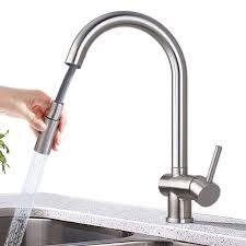 küchenarmatur ausziehbar wasserhahn küche mit brause hochdruck edelstahl spültischarmatur mischbatterie armatur für küche