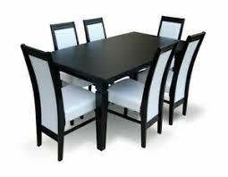 details zu tisch und 6 stühle nick esszimmer set 2 küche möbel ausziehbar