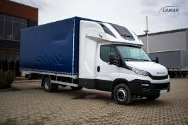 Iveco Daily Canvas And Boxes With Top Sleeper Back Sleeper - Lamar