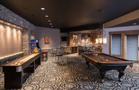 Dazzling Game Room Design It Is Refreshment Moment Spacious And Bar
