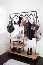 Wardrobe Racks Tumblr Clothes Rack Clothing Ikea Black And Gold With Rustic