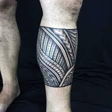 Legband Mens Tribal Tattoo Designs Polynesian