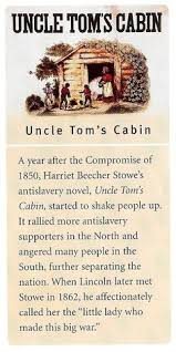 1851 One Year After Henry Clays Compromise Of 1850 Harriet Beecher Stowe