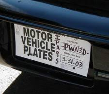 Describe Yourself In Seven Characters An Ode To The Vanity Plate
