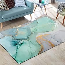 de zxdyly teppich kurzflor teppich grüner marmor