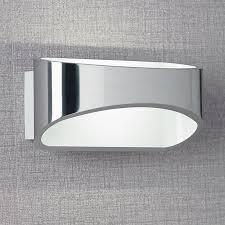 johnson chrome led wall light endon johnson ch