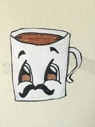 Cute Coffee Cup Picture Of Mug Drawing Cartoon