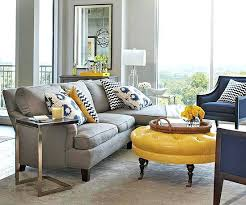 Gray And Yellow Living Room View In Gallery Color Palette Lends Sophistication To
