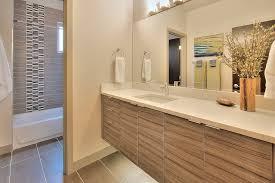 modern full bathroom with tiled wall showerbath slate tile