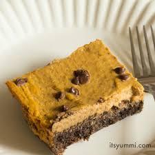Healthy Chocolate Pumpkin Desserts by Low Carb Pumpkin Pie Bars Its Yummi