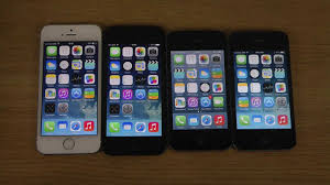 iPhone 5S vs 5 vs 4S vs 4 iOS 7 1 Final Which Apple Phone Is