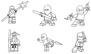 Ninjago Golden Ninja Coloring Pages To Download And Print For Free