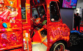SEMA 2011: Tattoo Artist Builds Lowrider Ice-Cream Truck