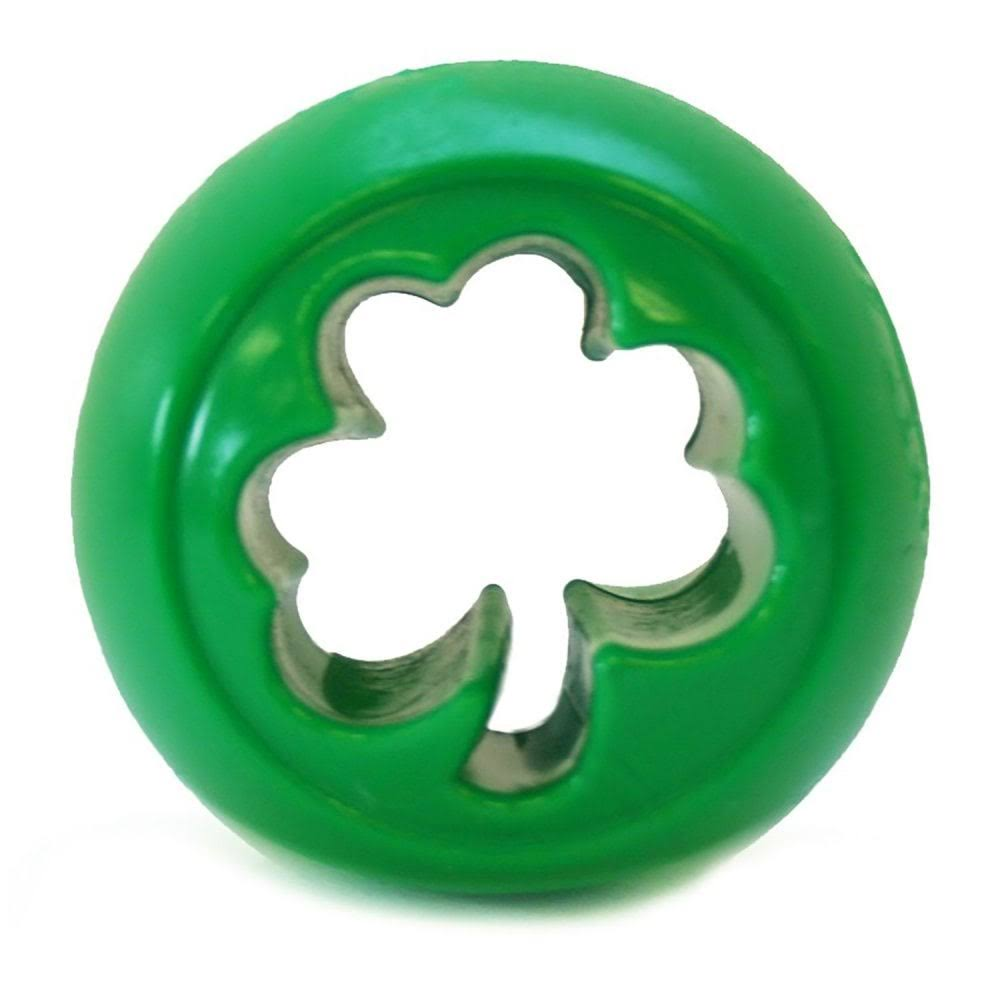 Planet Dog Orbee-Tuff Nooks Dog Toy - Shamrock Green